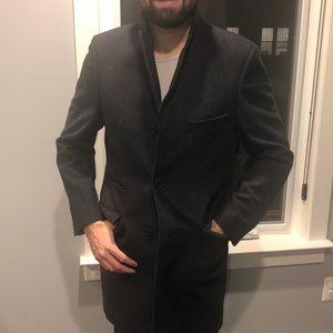 Weather report men's pea coat 38S